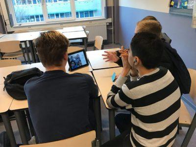 Tijdens het scholenproject Skypen Northgo leerlingen dagelijks met Indiase leeftijdgenoten