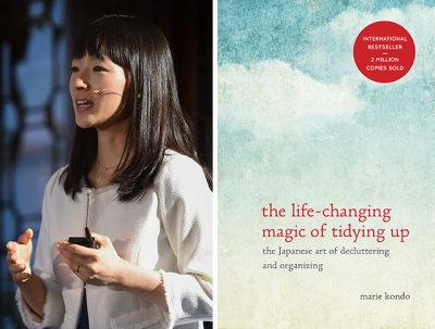 Marie Kondo life changing magic of tidying up